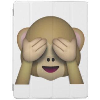 Sehen Sie keinen schlechten Affen - Emoji iPad Hülle