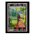 Sehen Sie Malaya Postkarte
