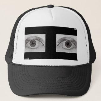 Sehen Sie mich schwarzer Hut Truckerkappe