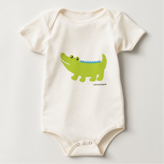 Sehen Sie Sie neueres AlligatorShirt Baby Strampler