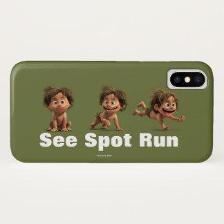 Sehen Sie Stelle zu laufen iPhone X Hülle