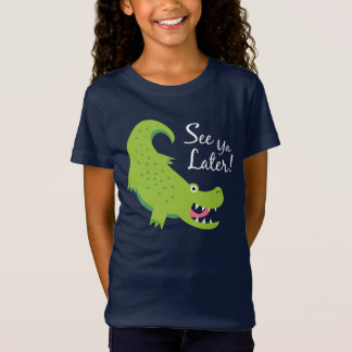 Sehen Sie Ya neueren Alligator! T-Shirt