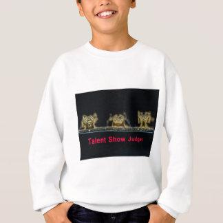 sehen Sie zu hören, judges.jpg zu sprechen Sweatshirt