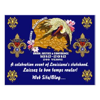 Sehen zweihundertjähriges Karneval-Party 21,6 X 27,9 Cm Flyer