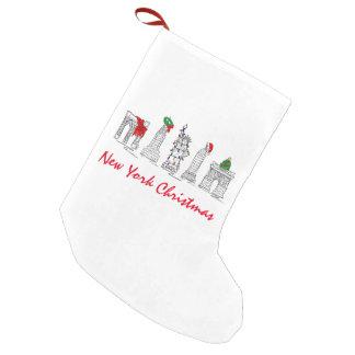 Sehenswürdigkeit-Feiertags-Weihnachten New- York Kleiner Weihnachtsstrumpf
