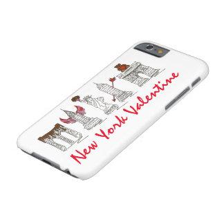 Sehenswürdigkeit-Kasten New York Cityvalentine-NYC Barely There iPhone 6 Hülle