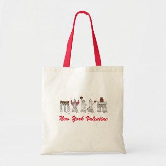 Sehenswürdigkeit-Tasche New York Cityvalentines Tragetasche