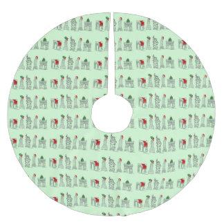 Sehenswürdigkeit-Weihnachtsbaum-Rock New- Polyester Weihnachtsbaumdecke