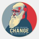 Sehr allmähliche Änderung, die wir herein glauben  Stickers