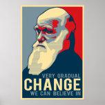 Sehr allmähliche Änderung, die wir herein glauben  Posterdrucke