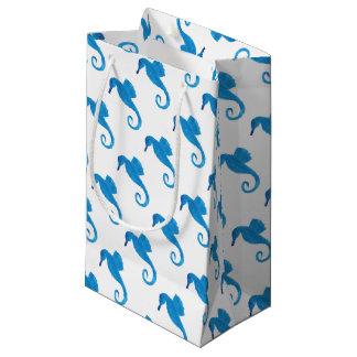 Sehr blaues Seepferd Kleine Geschenktüte