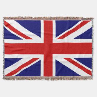 Sehr coole Königreich-Flagge der Gewerkschaft Jack Decke