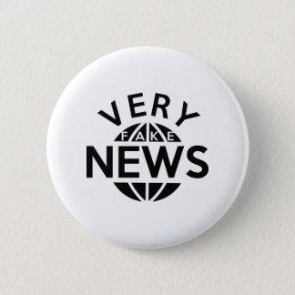 Sehr Fake-Nachrichten Runder Button 5,7 Cm