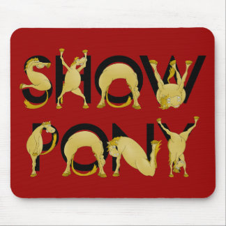 Sehr flexibles SHOW-PONY Mauspads