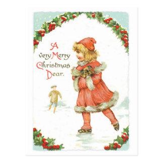 Sehr frohen Weihnachten lieb Postkarte