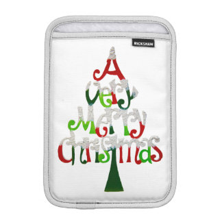 Sehr fröhlicher Weihnachtsbaum Sleeve Für iPad Mini