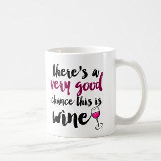 Sehr gute Möglichkeit dieses ist Wein-Kaffee-Tasse Tasse