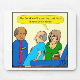 sehr lebhafter Cartoon des Essers 910 Mousepad