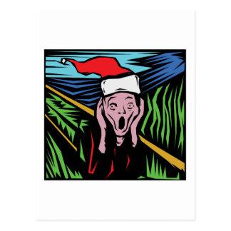 Sehr lustiges Weihnachten Postkarte