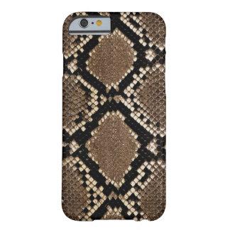 Sehr stilvoller Schlangen-Haut-Entwurf Barely There iPhone 6 Hülle