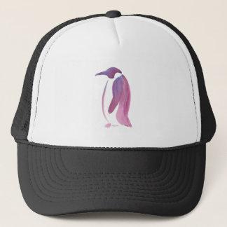 Sehr violetter Pinguin Truckerkappe