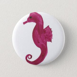 Sehr violettes Seepferd Runder Button 5,7 Cm