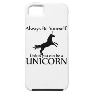 Sei Du selbst Einhorn iPhone 5 Hülle