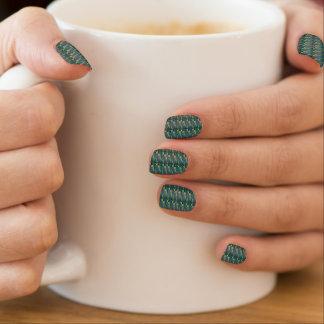 Seidener KristallMinx esthéticien clous Decken Minx Nagelkunst