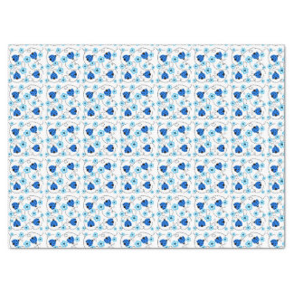Seidenpapier/Blumen und Marienkäfer Seidenpapier