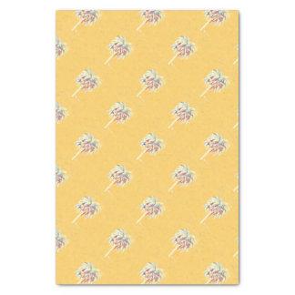 Seidenpapier-Gelb-Palme Seidenpapier
