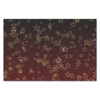 Seidenpapier Weihnachtsroter Goldstern