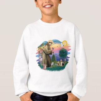 Seidige Terrier (zwei) Sweatshirt
