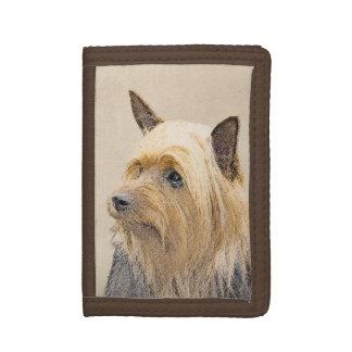 Seidiger Terrier-Malerei - niedliche ursprüngliche