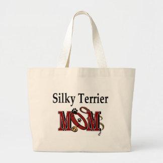 Seidiger Terrier MAMMA Taschen-Tasche Jumbo Stoffbeutel