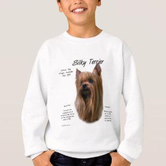 Seidiges Terrier-Geschichtsentwurf Sweatshirt