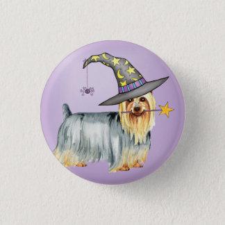 Seidiges Terrier-Hexe Runder Button 2,5 Cm