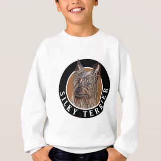 Seidiges Terrier-Hund 002 Sweatshirt