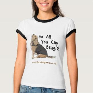 Seien Sie alle, die Sie der Wecker-T-Stück der T-Shirt