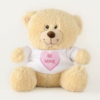 Seien Sie Bergwerk-Süßigkeits-Herz Teddybär