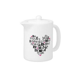 Seien Sie Bergwerk-Valentinsgruß-Herz