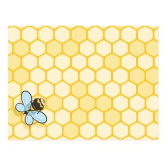 Seien Sie Bienenstock Postkarte