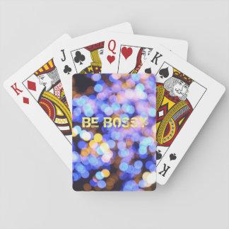 SEIEN Sie BOSSY Karten Spielkarten