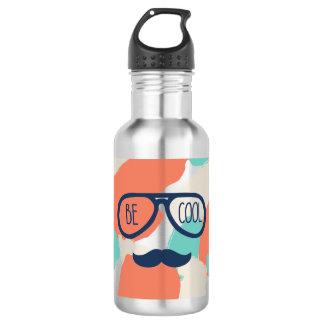 Seien Sie cool Edelstahlflasche