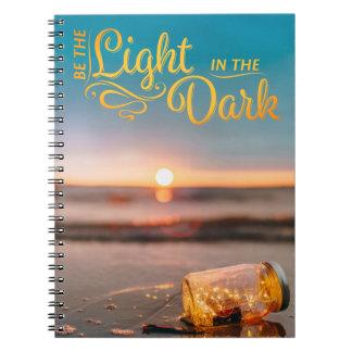 Seien Sie das helle gewundene Notizbuch Spiral Notizblock