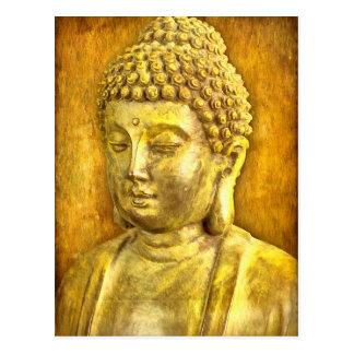 Seien Sie der Buddha Postkarte