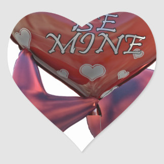 Seien Sie die Bergwerk-Valentinsgrüße, die Ballone Herz-Aufkleber