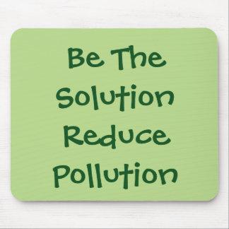 Seien Sie die Lösung verringern Verschmutzung Mousepad