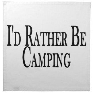 Seien Sie eher Camping Serviette