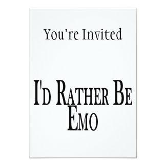 Seien Sie eher Emo
