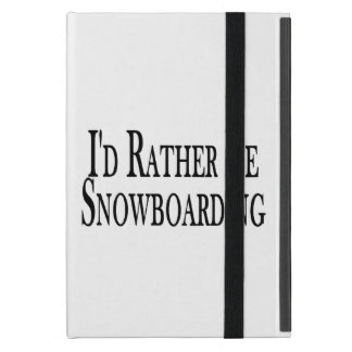 Seien Sie eher Snowboarding Schutzhülle Fürs iPad Mini